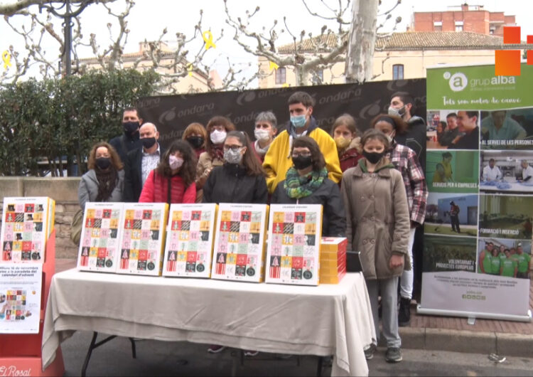 A la venda el calendari d'Advent del Grup Alba de Tàrrega