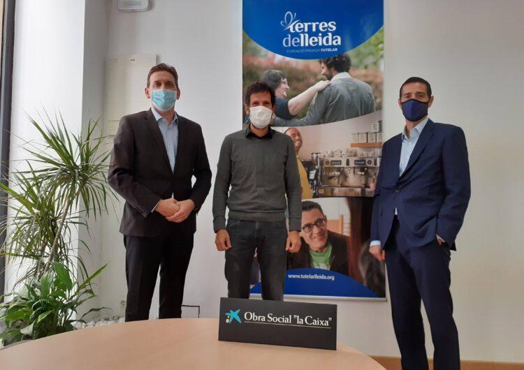 """La Fundació """"La Caixa"""" i CaixaBank col·laboren amb la Fundació Tutelar Terres de Lleida per a millorar la qualitat de vida de les persones tutelades"""