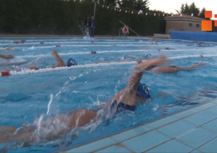 Els nedadors del Club Natació Tàrrega comencen  a entrenar a la piscina de Verdú