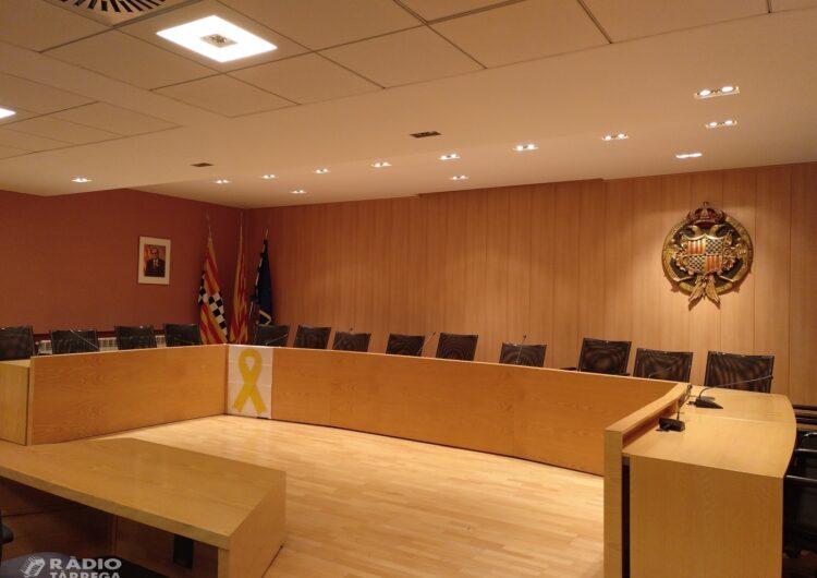 Junts per Tàrrega presenta al·legacions contra la pujada d'impostos i taxes municipals