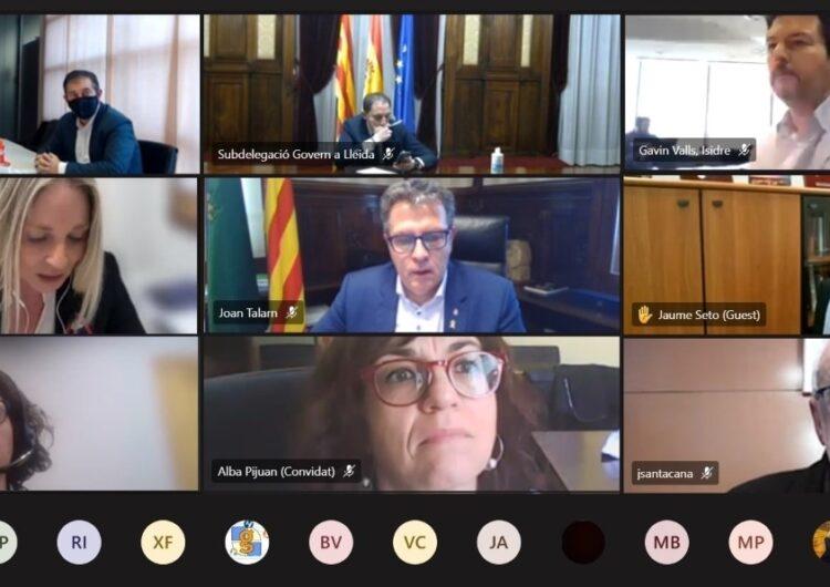 La Diputació de Lleida constitueix la Comissió de Seguiment del Pla de Rodalies Lleida i demana finançament europeu