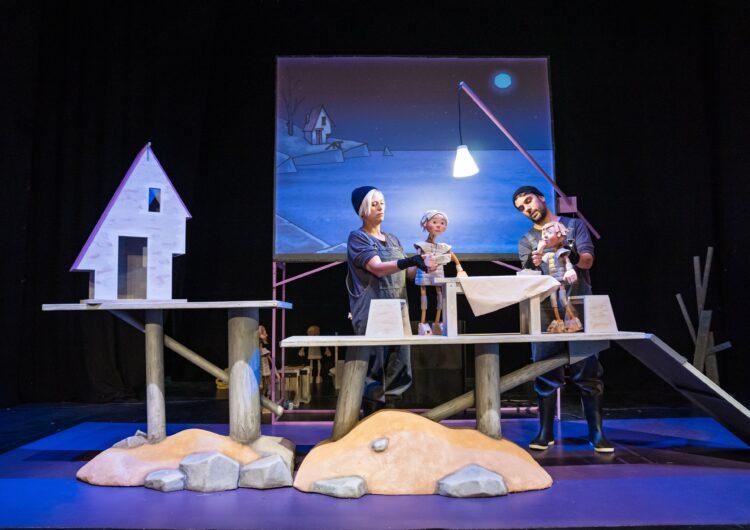 El Centre de Titelles de Lleida porta  al Teatre Ateneu el seu espectacle familiar inspirat en Moby Dick