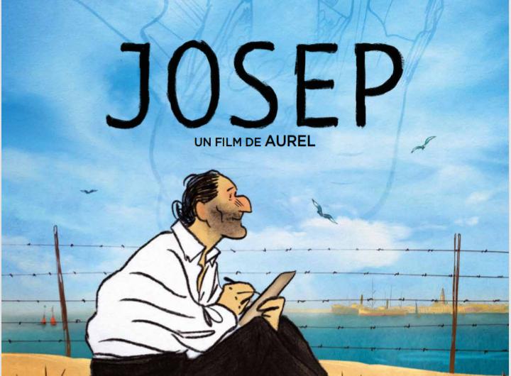 """Del 4 al 8 de desembre el Cinema Majèstic projectarà el film animat """"Josep"""" sobre els republicans exiliats el febrer del 1.939"""