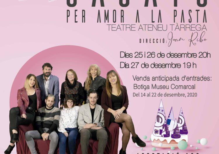 """El Grup de Teatre BAT presenta durant aquestes festes la comèdia """"Casats per amor a la pasta"""""""