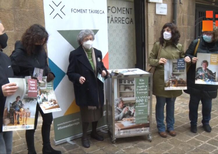 Foment Tàrrega presenta una campanya per fomentar les  compres de Nadal  a la ciutat