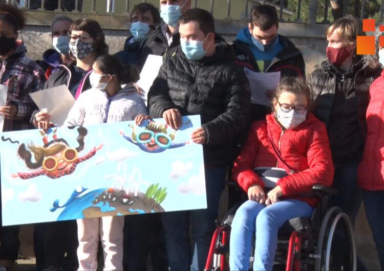 Pintaran un mural a l'exterior de l'Escola Alba que mostrarà l'esperit i la feina que es fa al  centre