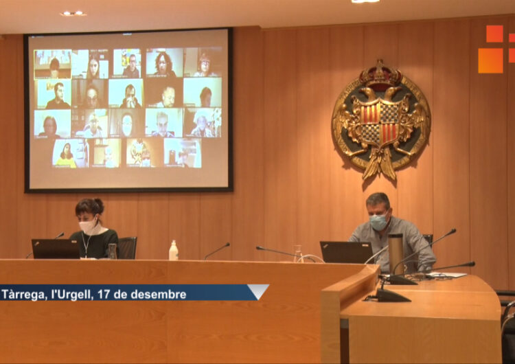 El Ple de Tàrrega aprova per unanimitat aplicar una bonificació del 95% de l'IBI al local del Grup de Teatre BAT