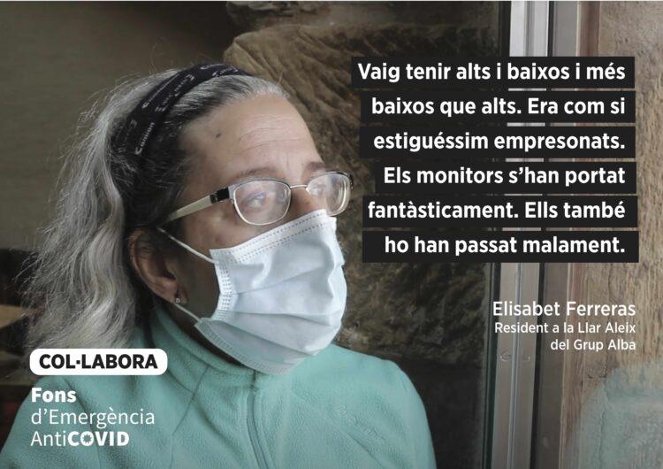Campanya amb testimonis reals sobre com ha impactat la COVID19 a l'entitat grup Alba