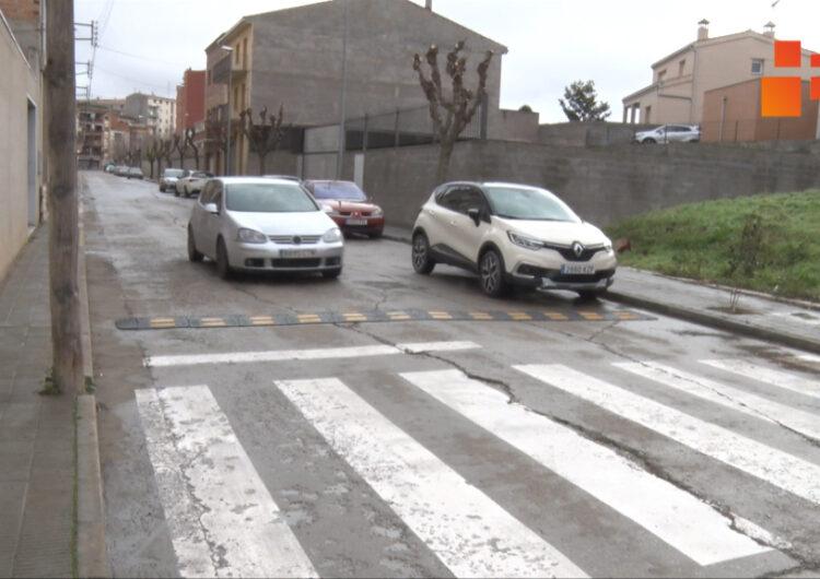 L'Ajuntament de Tàrrega aprova la renovació del paviment dels carrers de Roger de Llúria i Astes de Sant Macari
