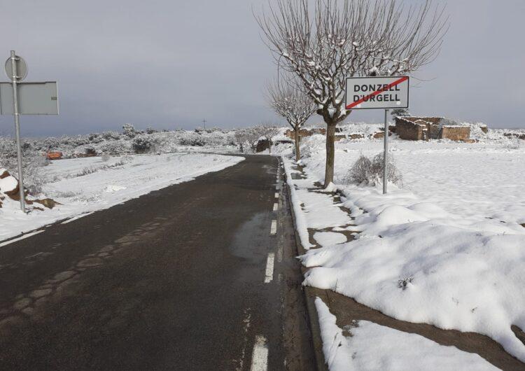 La Diputació de Lleida distribueix 1.750 tones de potassa durant l'episodi de nevades i gelades del temporal Filomena
