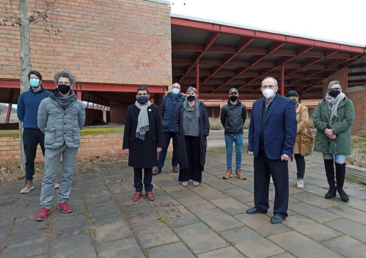 El Conseller Chakir El Homrani visita el futur equipament residencial i de serveis comunitaris de Sant Martí de Riucorb que impulsarà el Grup Alba