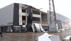 La torbonada causa greus desperfectes a la ciutat de Tàrrega