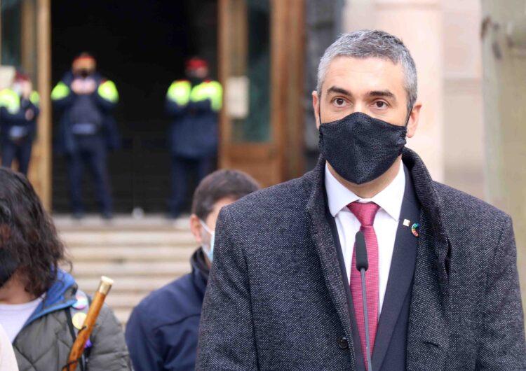 El TSJC condemna Solé a un any d'inhabilitació i una multa de 16.800 euros pel seu paper en l'1-O quan era alcalde