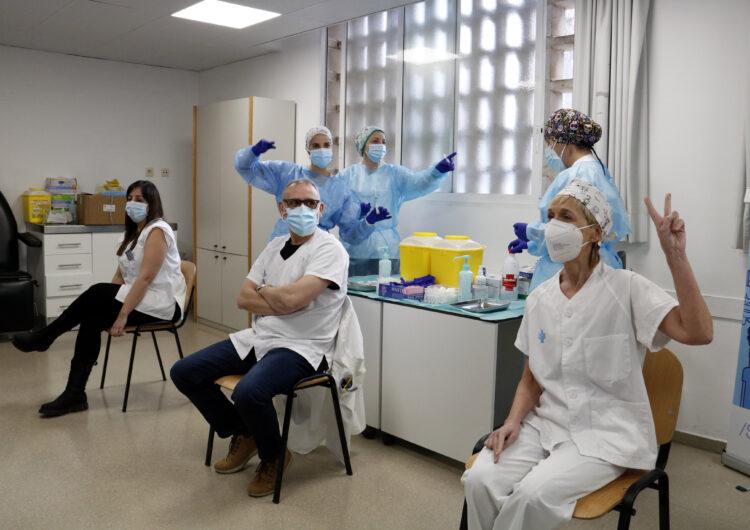 Més de 9.500 persones s'han vacunat de covid-19 a Lleida, on la taxa de rebuig entre professionals se situa en l'1%