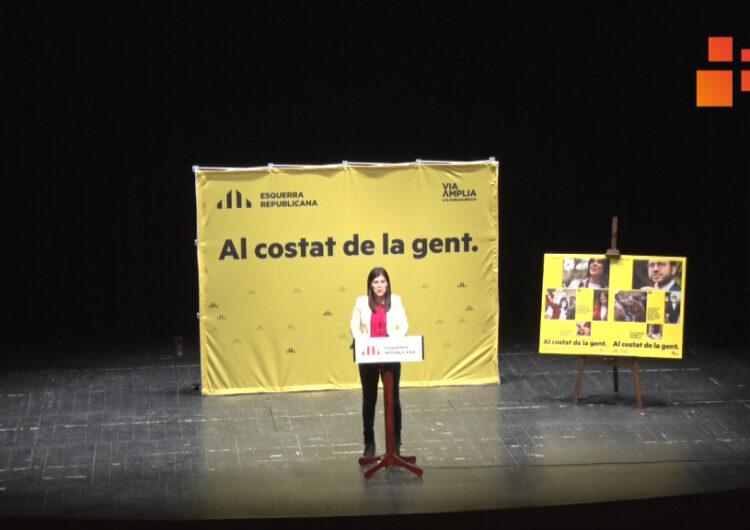 ERC escull Tàrrega per iniciar la campanya electoral per les eleccions del 14F