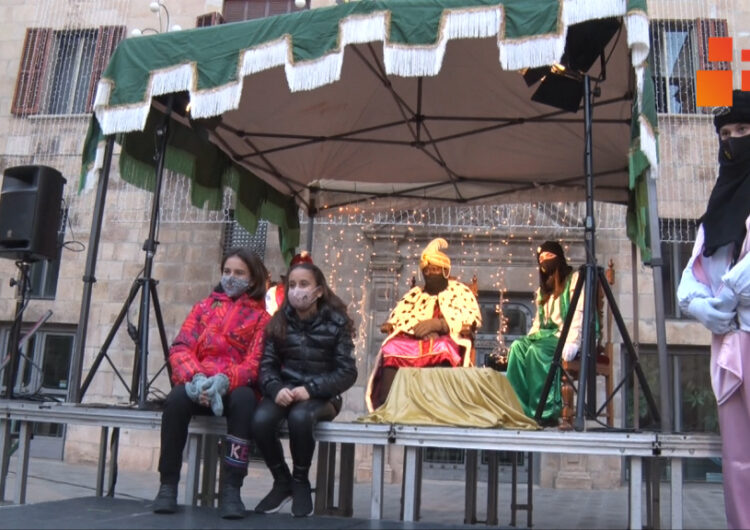 Tàrrega rebrà els Reis d'Orient en un acte estàtic a l'Espai Fassina