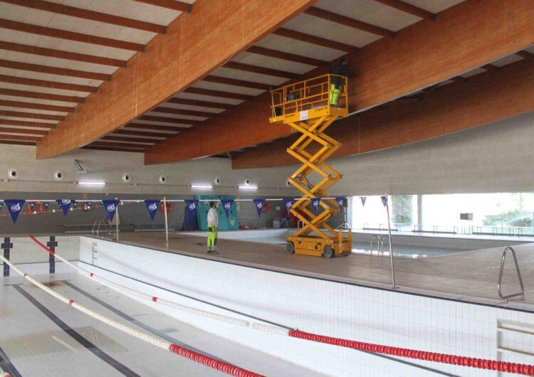 L'Ajuntament de Tàrrega inicia els treballs de rehabilitació de la piscina coberta municipal