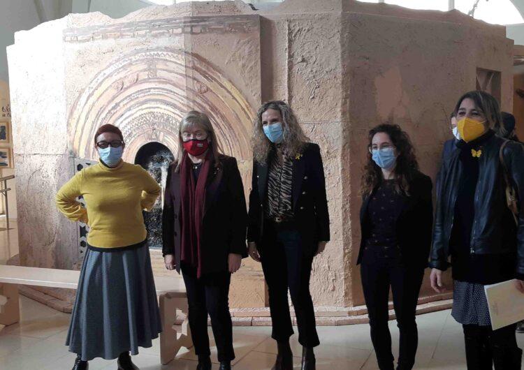 La consellera de cultura aposta per posar en valor la singularitat cultural d'Agramunt