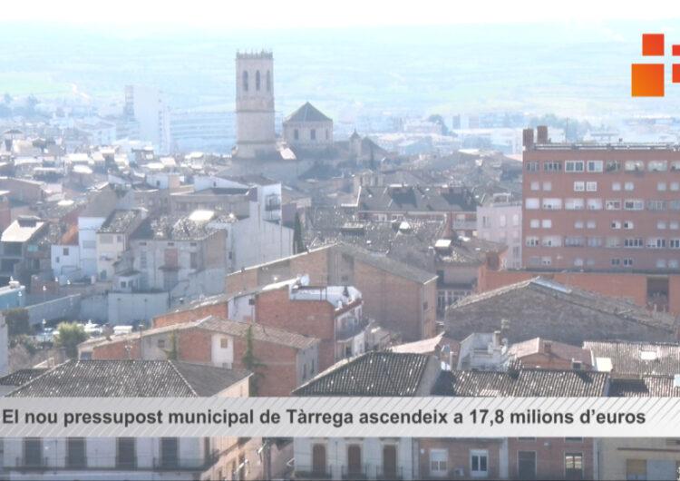 EL pressupost municipal  ascendeix a 17,8 milions d'euros i reforça la prestació de serveis davant la crisi de la Covid-19