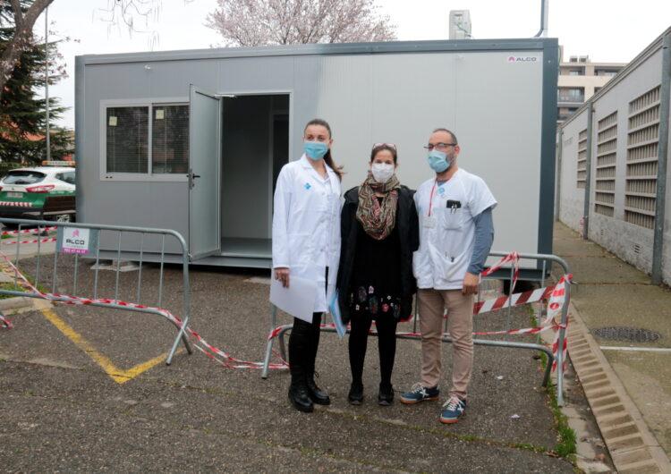 Un 60% del personal 'essencial' ha rebut la primera dosi de la vacuna d'AstraZeneca a la regió sanitària de Lleida