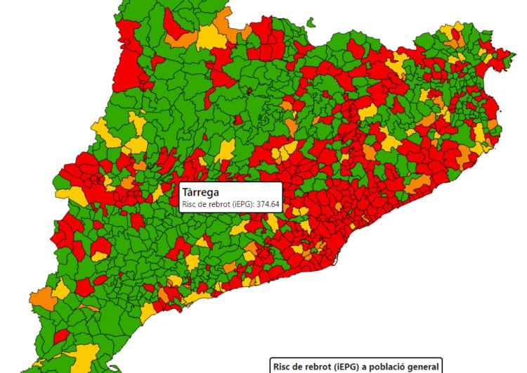 La comarca de L'Urgell té en aquest moment 7 classes confinades pertanyents a 5 centres educatius de Tàrrega i Bellpuig