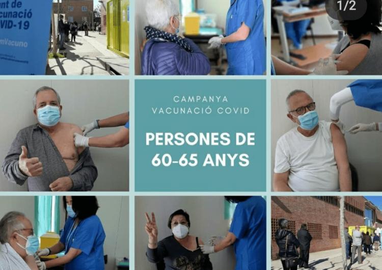 El CAP de Tàrrega comença a vacunar amb AstraZeneca a les persones d'entre 60 i 65 anys