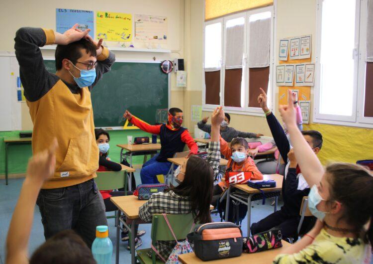 El Galacticat porta el cinema a les escoles amb el cerverí Jordi Boquet, guardonat amb un Premi Gaudí