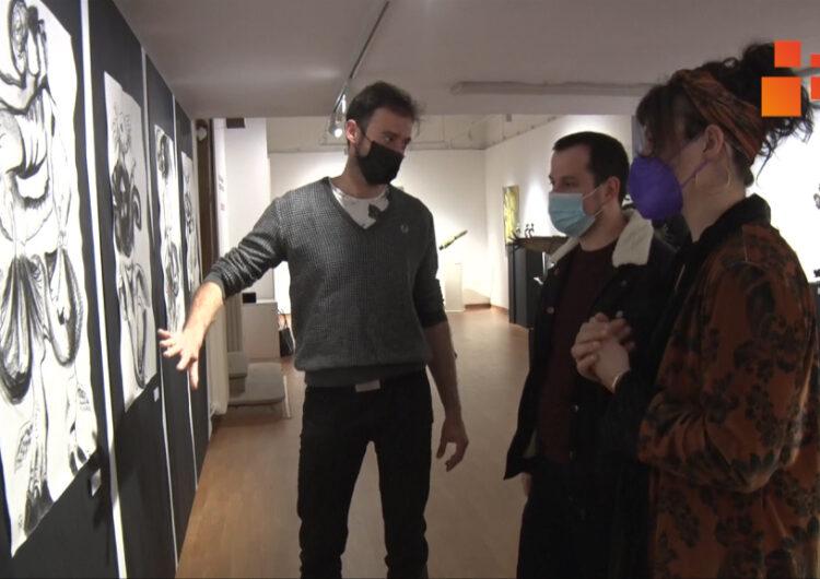 Pintura i escultura de Jordi Claramunt i Cristina Persiani a la Sala Marsà