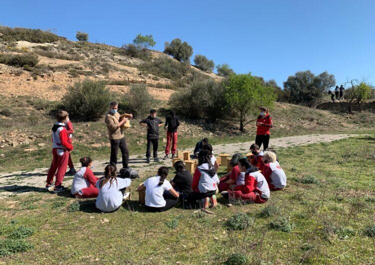 Alumnes de Tàrrega descobreixen l'entorn més proper al Pla de Lluçà