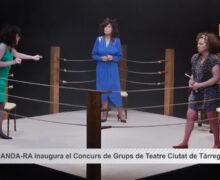 El grup  AN-DANDA-RA d'Andorra inaugura el Concurs de Grups de Teatre Ciutat de Tàrrega