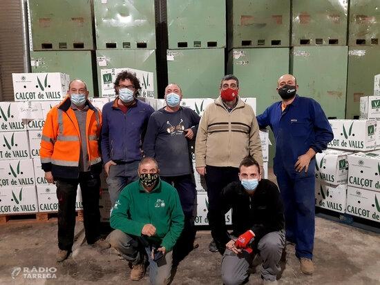 Les residències de gent gran de Tàrrega reben calçots de Valls dins la campanya 'Gràcies des de Valls'
