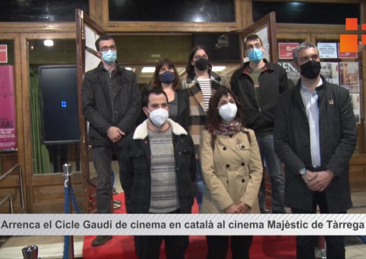 Tàrrega obre el nou cicle de projeccions de títols nominats als Premis Gaudí