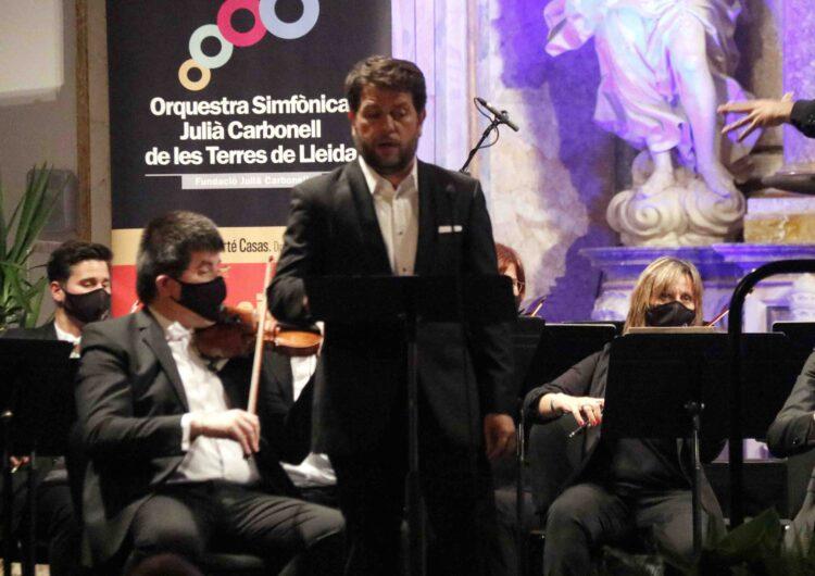 L'Orquestra Julià Carbonell homenatja Manén i Gerhard en el concert inaugural de l'11è Festival de Pasqua de Cervera