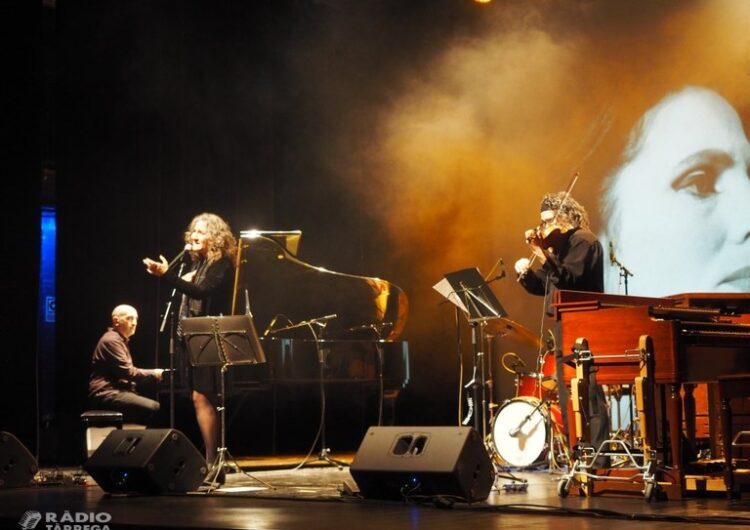 El jazz de Txema Riera i els fados de Carolina Blàvia, units en una doble proposta musical del cicle Tàrrega Sona al Teatre Ateneu