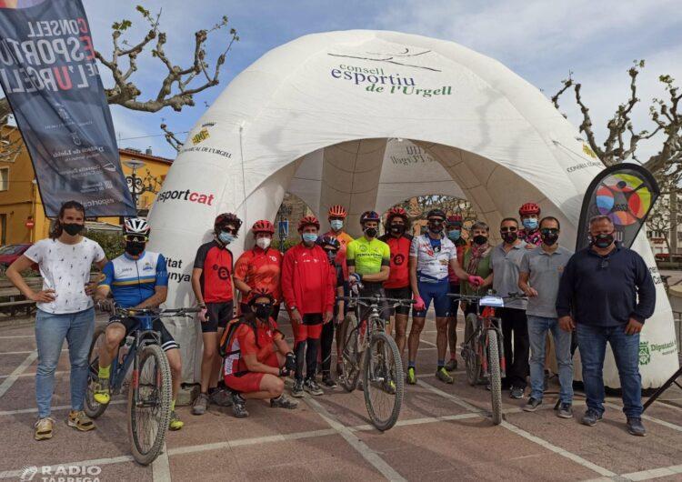 El targarí Jaume Rovira completa el seu repte solidari en benefici de l'esport inclusiu i salut del Grup Alba