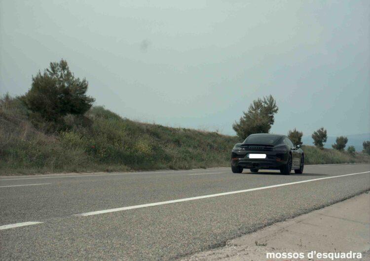 Els Mossos d'Esquadra denuncien durant el cap de setmana tres conductors a la Noguera i l'Urgell per circular a una velocitat penal