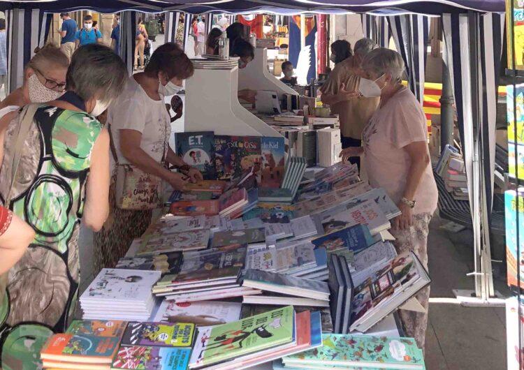 Sant Jordi a Tàrrega tindrà dos espais diferenciats de llibreries i floristeries amb la d'entitats