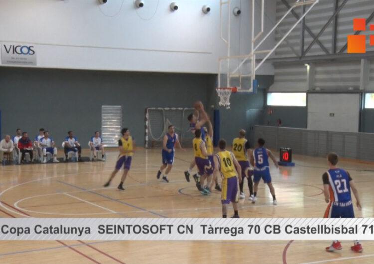 Resum del partit de bàsquet  de Copa Catalunya CN Tàrrega 70   CB Castellbisbal 71