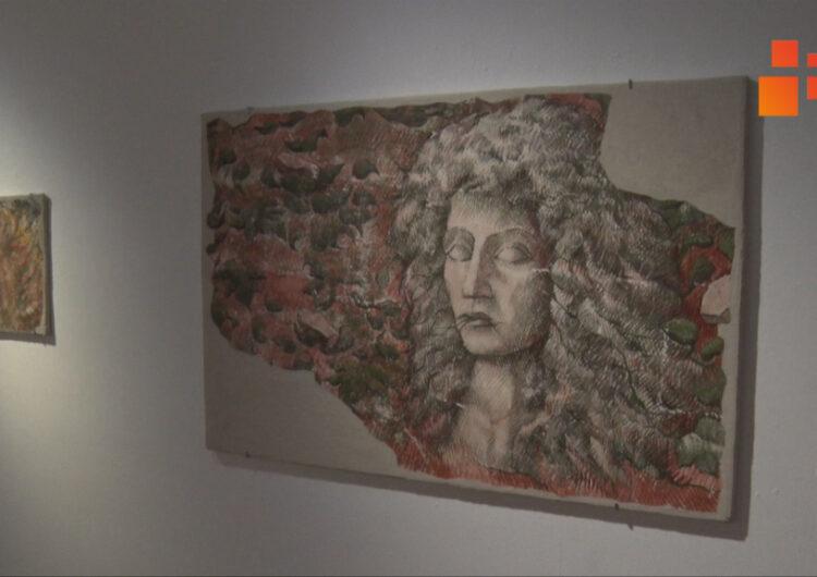 """""""Crònica d'un pintor de frescos"""" exposició de Josep Minguell a la Sala Marsà de Tàrrega"""