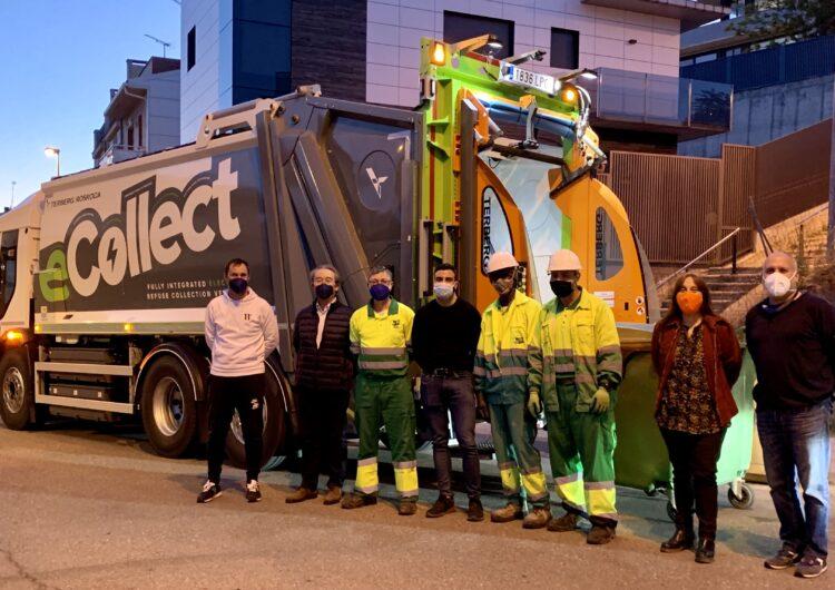 eCollect, zero emissions durant la recollida de residus
