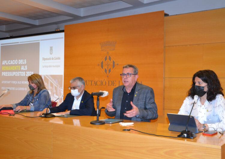 La Diputació reforça amb 25 M€ el pressupost del 2021 per lluitar contra els efectes socioeconòmics de la pandèmia, el despoblament i la creació d'una Agència de l'Energia