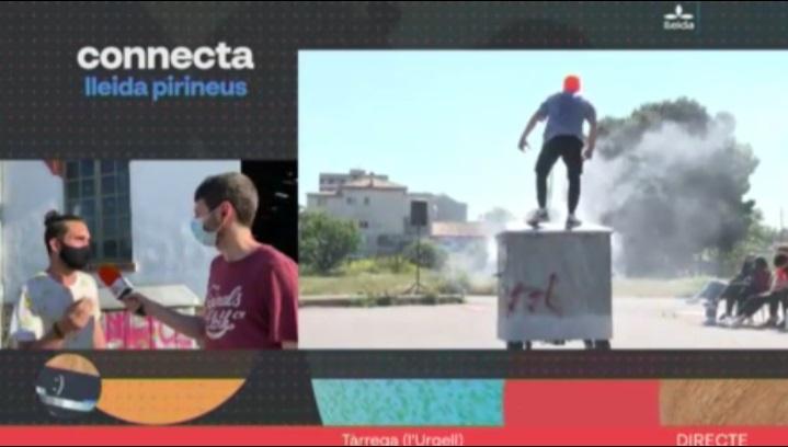 """La companyia Emília Gargot presenta la seva obra """"Container"""" al programa Connecta Lleida Pirineus"""