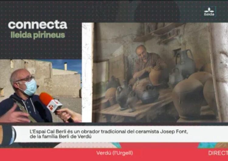 Connecta Lleida Pirineus visita l'Espai Cal Berli, un obrador tradicional de ceràmica negra