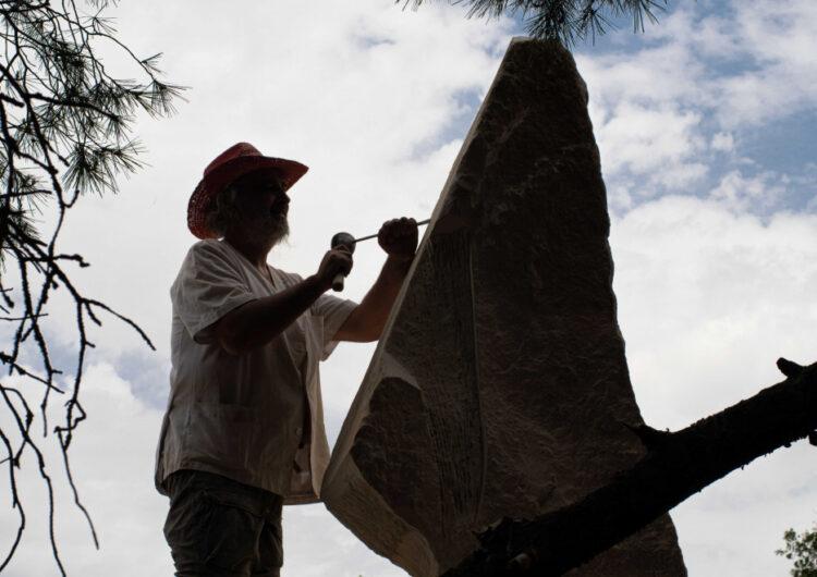 Maldà es converteix en la capital catalana de l'escultura en pedra