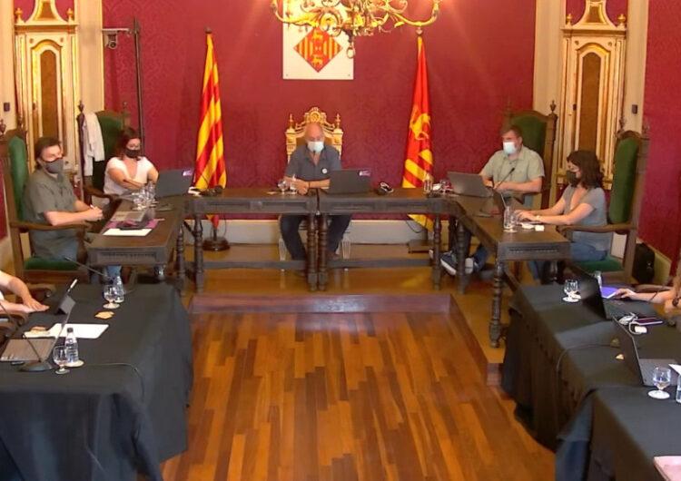 La Paeria de Cervera modifica el cartipàs municipal fruit del pacte de govern  2021-2023 entre ERC, Junts i la CUP