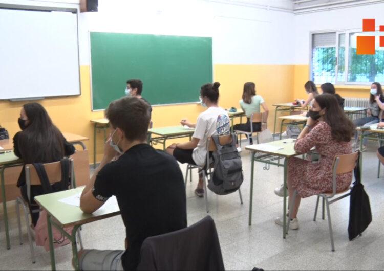 Més de 200 alumnes de l'Urgell i la Segarra s'examinen de la selectivitat a Tàrrega