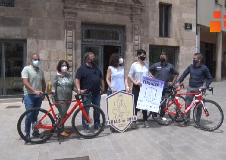 Tàrrega celebrarà el diumenge 13 de juny la 'Pedals de Dona', l'única marxa cicloturista exclusivament femenina de Catalunya