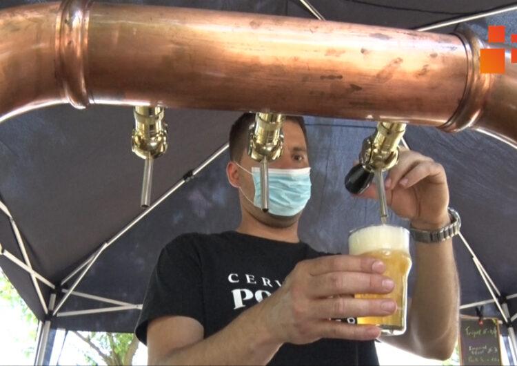 Molt bona acollida de la Fira de la Cervesa Artesana amb 1.500 litres de beguda repartits