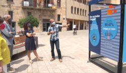 """Tàrrega acull l'exposició """"Operació Aigua"""" per reflexionar sobre els usos…"""