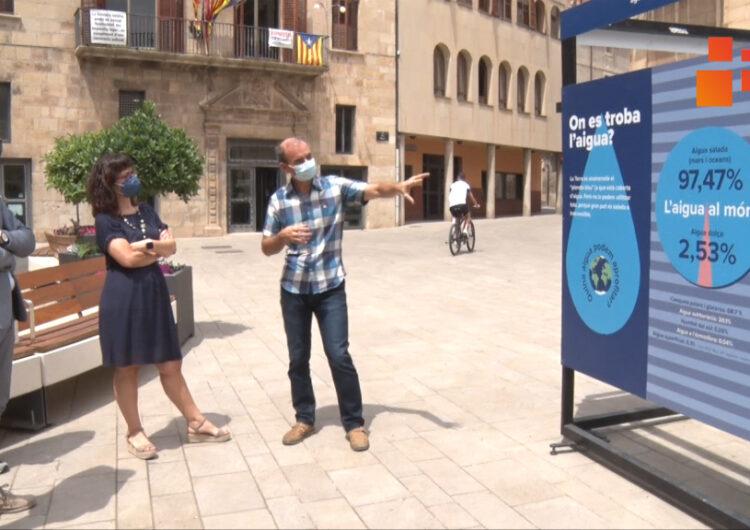 """Tàrrega acull l'exposició """"Operació Aigua"""" per reflexionar sobre els usos de l'aigua al món actual"""